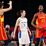 إسبانيا تتفوق على كوريا في أول مباراة لكرة السلة للسيدات