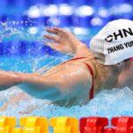 الصينية تشانغ تفوز بذهبية سباق 200 متر فراشة
