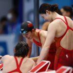 الصين تفوز بذهبية سباق التتابع 4 في 200 متر حرة وتحقق رقما عالميا