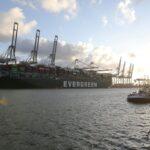 وصول سفينة الحاويات إيفر جيفن التي سدت قناة السويس إلى روتردام