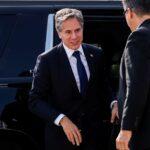 وزيرا خارجية أمريكا وفرنسا يناقشان العلاقات الثنائية بعد أزمة الغواصات