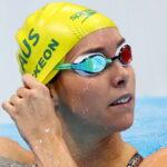 ألعاب طوكيو-سباحة  الأسترالية ماكيون تحرز ذهبية 100 م حرة