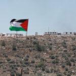تواصل الاحتجاجات الفلسطينية في جبل صبيح جنوب نابلس