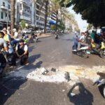 لبنان.. صدامات بين الجيش ومتظاهرين في بيروت