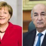 الرئيس الجزائري يعزي ميركل في ضحايا الفيضانات في ألمانيا