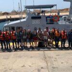 القوات البحرية المصرية تنقذ يخت شراعي سويسري على متنه 10 أفراد