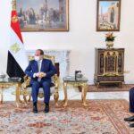 مصر والأردن تؤكدان تكثيف جهود تسوية القضية الفلسطينية