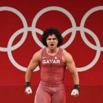 القطري فارس إبراهيم يحرز الميدالية الذهبية في رفع الأثقال