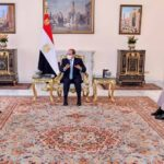 السيسي يشيد بجهود الجيش اللبناني في بسط الأمن والاستقرار