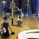 مقتل 12 شخص بسبب الأمطار الغزيرة بوسط الصين