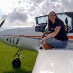 عمرها 19 عاما وتسعى لتحقيق رقم قياسي في الطيران وحدها حول العالم