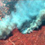 حرائق الغابات تهدد المنتجعات السياحية في تركيا