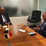 شكري: مصر ستؤيد مشروع القرار التونسي بشأن سد النهضة