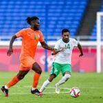 السعودية تخسر من كوت ديفوار في كرة القدم