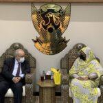 وزيرة الخارجية السودانية تبحث مع نظيرها الجزائري تطورات ملف سد النهضة