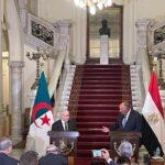 شكري ونظيره الجزائري يبحثان ملفات سد النهضة وليبيا وتونس