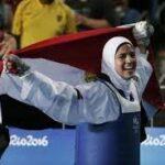 هداية ملاك أول سيدة تحمل علم مصر في الأولمبياد
