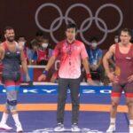 المصريان متولي وإبراهيم يفشلان في الصعود لنهائي المصارعة في أولمبياد طوكيو