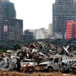 لبنانيون يطالبون بالعدالة في ذكرى انفجار مرفأ بيروت