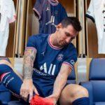 ميسي يغيب عن مباراة باريس سان جيرمان أمام ميتز بسبب كدمة في العظام