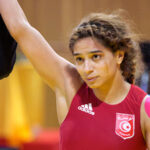 المصارعة التونسية مروى العمري تودع أولمبياد طوكيو