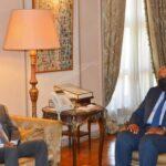 شكري يبحث مع رئيس الوزراء الصومالي تعزيز العلاقات