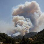 ارتفاع عدد قتلى حرائق الغابات في تركيا وتضرر منتجعات ساحلية