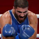 الملاكم الفرنسي علييف يطلب إعادة نزال بالأولمبياد بعد استبعاده