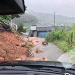 انهيار طيني في جنوب غرب اليابان جراء السيول