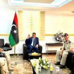 ليبيا.. الدبيبة يلتقي أعضاء لجنة 5+5 العسكرية