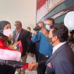 وزير الرياضة يستقبل أبطال مصر في أولمبياد طوكيو