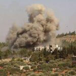 مقاتلات روسية تشن غارات قرب نقطة عسكرية تركية شمال سوريا