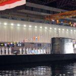 الغواصة «S-44» الألمانية تصل إلى قاعدة الإسكندرية لتنضم إلى البحرية المصرية