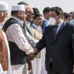 المنفي في طبرق لبحث المصالحة الليبية