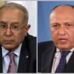 سامح شكري يجدد تضامن المصريين مع الجزائر