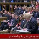 رئيس الوزراء البريطاني: لا نفكر في نشر قوات لمقاتلة طالبان