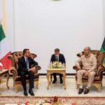 وزير الخارجية الإيطالي يلتقي حفتر في بنغازي وصالح بطبرق