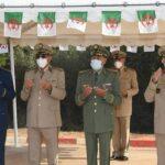 تأبين ضحايا الحرائق من العسكريين الجزائريين