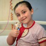 الصحة المصرية تعلن شفاء الطفلة الفلسطينية «بيان» (صور)