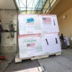 الصحة الفلسطينية تتسلم 500 ألف جرعة من لقاح موديرنا بتبرع من أمريكا