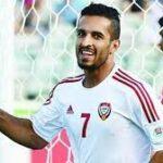 مبخوت يفوز بجائزتي أفضل لاعب وهداف الموسم في الدوري الإماراتي