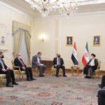 الرئيس العراقي لنظيره الإيراني: ندعم بقوة استقرار المنطقة وإنهاء التوترات