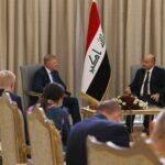 الرئيس العراقي: التكاتف الدولي ضروري لمكافحة الإرهاب