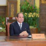 الرئيس المصري: سنواصل العمل مع الأشقاء الأفارقة لمواجهة التحديات
