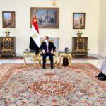 الرئيس المصري: نرفض أي تدخلات خارجية في الشأن اليمني