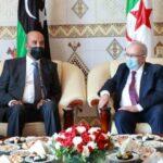 نائب «المجلس الرئاسي الليبي» يطلع الرئيس الجزائري على المستجدات