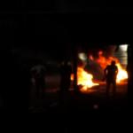 جيش الاحتلال يقمع مسيرة فلسطينية عند حاجز حوارة
