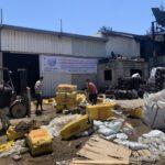 تحذيرات من مخاطر صحية جراء انبعاث مواد سامة في غزة