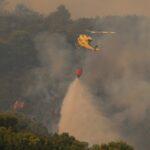حريق غابات ضخم في جنوب إسبانيا يجبر 800 على الفرار