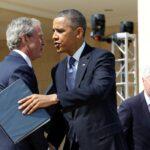 بوش وكلينتون وأوباما يتحدون في مساعدة لاجئي أفغانستان